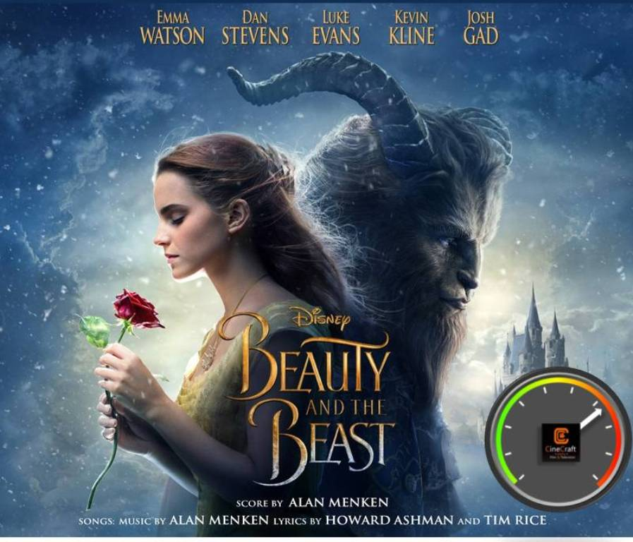 BEAUTY AND THE BEAST CINE METER