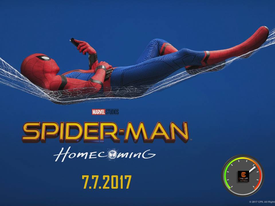 Spider Man Homecoming CineMeter