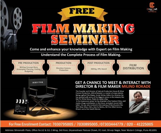 Free Film Making Seminer